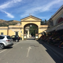 The entrance to Staglieno