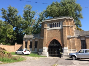 Entrance to the Jewish Cemetery