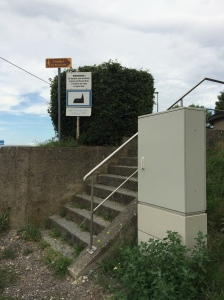 Steps to the cemetery