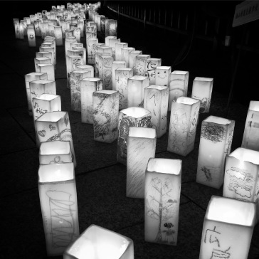 A river of candles
