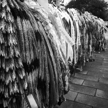 Thousands of cranes