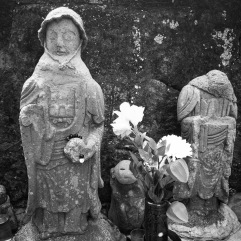 More statues