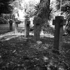 5 crosses on the hill