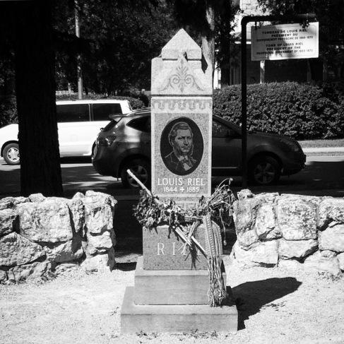 Louis Riel's grave