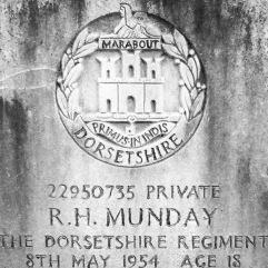The Dorsetshire Regiment: R.H. Munday (18)