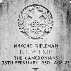 The Cameronians: E.J. Wilkie (23)