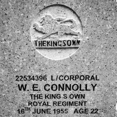 The King's Own Royal Regiment: W.E. Connolly (22)