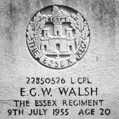 The Essex Regiment: E.G.W. Walsh (20)