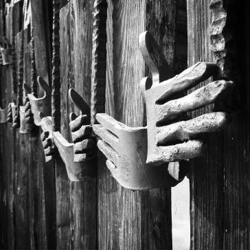 Martyred hands