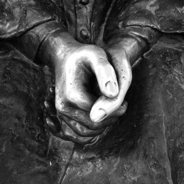 Sainted hands