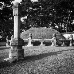 Part of the queen's tomb