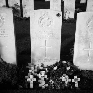Valentine's grave