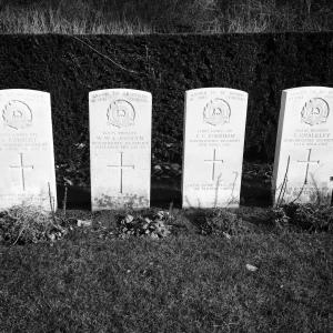 Many soldiers buried here, their exact locations are unknown.