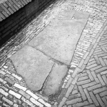 The grave in the street