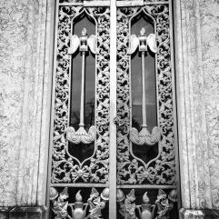 Detailed iron doors
