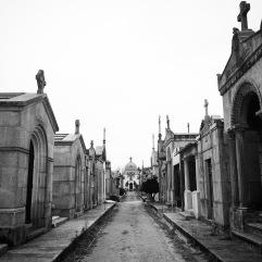 Street of mausolea