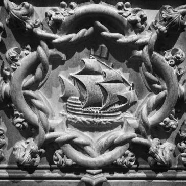 Detail from Vasco da Gama's tomb