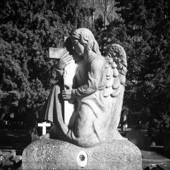 Angel with cross