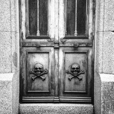 Double skulls and crossbones