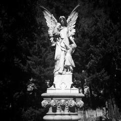 Angel and children