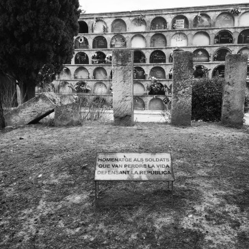 For those who died during the Spanish civil war