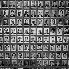 Small section of wall of images