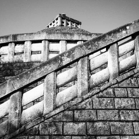 Diagonal on the pagoda