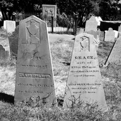 His and hers tombstones