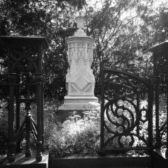 Gate and memorial