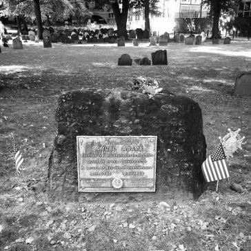 Grave of Samuel Adams
