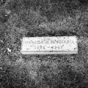 Fiorello's individual grave