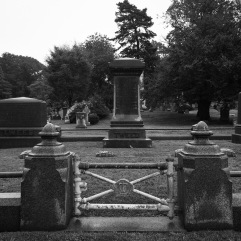 Boss Tweed (and family) grave