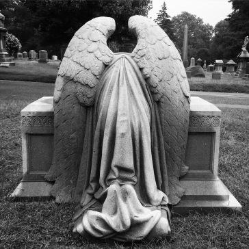 Grieving angel (back)