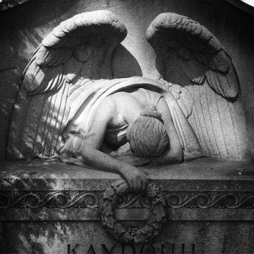 Grieving angel (shadows)