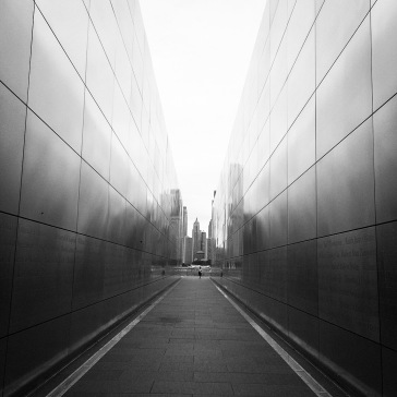 Inside the Empty Sky Memorial