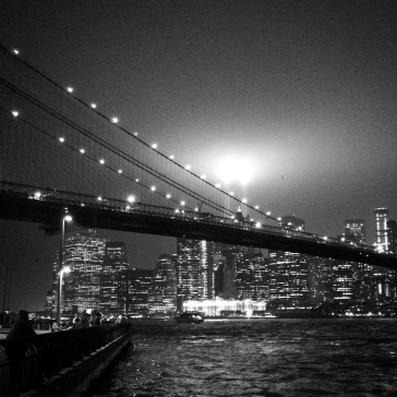9/11 Tribute with Brooklyn Bridge