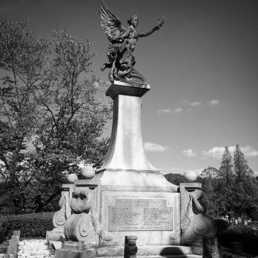 WWI memorial: full view