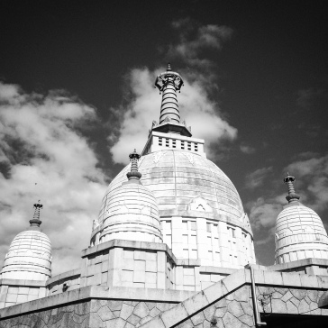 Another view of the main stupa