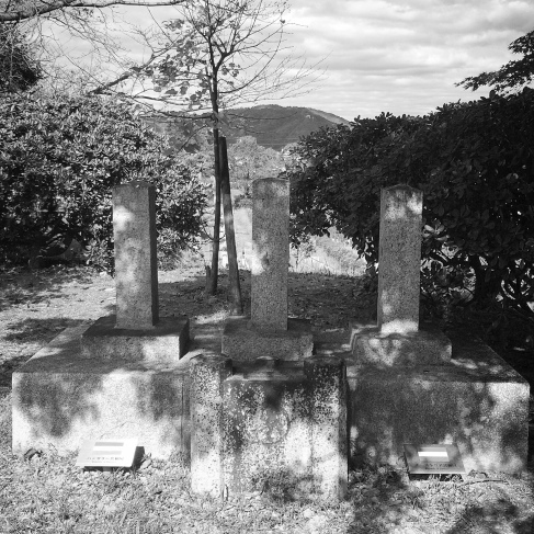 The burial place of three foreign soldiers