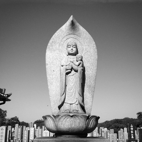 Children are rarely represented in Japanese cemeteries