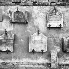 Lapidarium wall