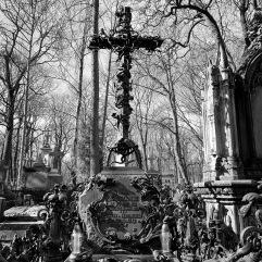 Art nouveau cross