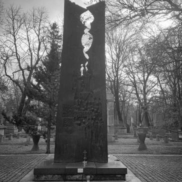 Stylized monument