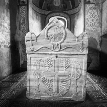 The sarcophagus of Yaroslave the Wise