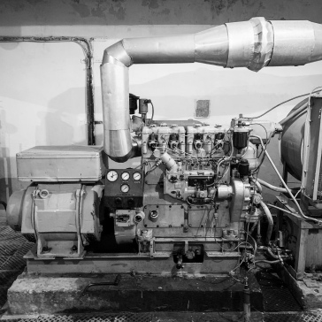 The backup generator