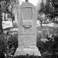 Keats gravestone