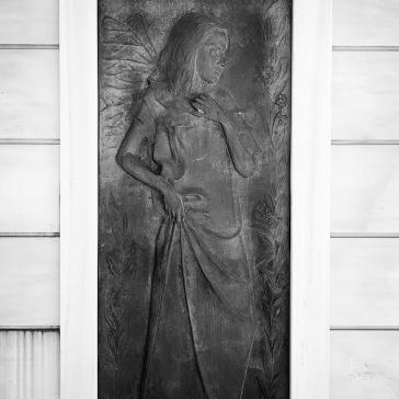 A rare bronze door