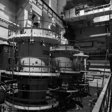 The cooling tanks for Reactor 3. The radiation levels here were the highest I experienced on the entire trip.