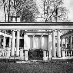 Mausoleum in disrepair