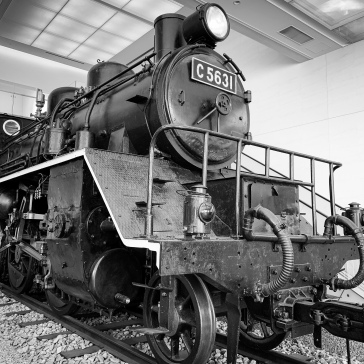 Steam Locomotive C56 31, brought back from Thailand, used on the Thai-Burma Railway